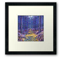 Blue Forest 3 Framed Print