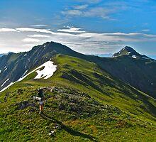 Ridge Walking by bamorris