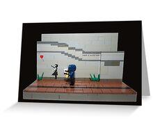 Bricksy  Greeting Card