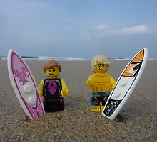 Plastic Surf by minifignick
