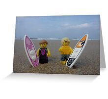 Plastic Surf Greeting Card