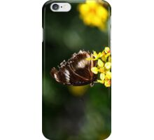 Yellow Flower Butterfly iPhone Case/Skin