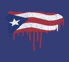 Puerto Rico Paint Drip  by CreativoDesign