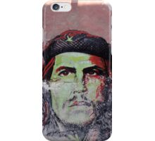 che guevara cuban street art iPhone Case/Skin