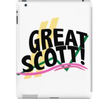 Great Scott - Doc Brown iPad Case/Skin