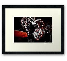 Gemma Hayes & Jon Covey - Zombies Framed Print