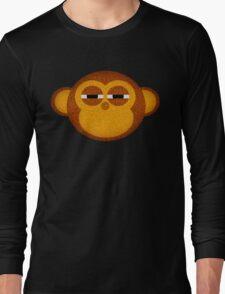 Highly suspicious monkey Long Sleeve T-Shirt
