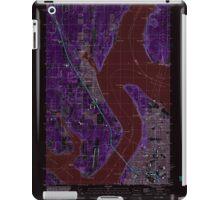 USGS Topo Map Washington State WA Gig Harbor 241272 1997 24000 Inverted iPad Case/Skin