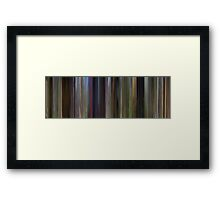 Moviebarcode: Shrek (2001) Framed Print
