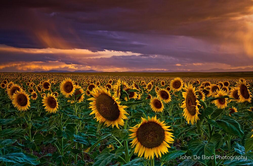 God's Painted Sky by John  De Bord Photography