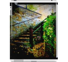 ye old church yard steps  iPad Case/Skin