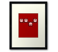 Another perspective for the owl Framed Print