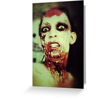 Zombie Crawl Denver, Co. Greeting Card