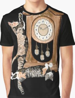 Steampunk'd Arya and Veda Graphic T-Shirt