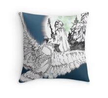 Whisper in the Wind Throw Pillow