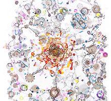 Intracellular Diversion -pls view large by Regina Valluzzi