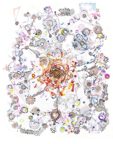 Intracellular Diversion -pls view large by Regina Valluzzi