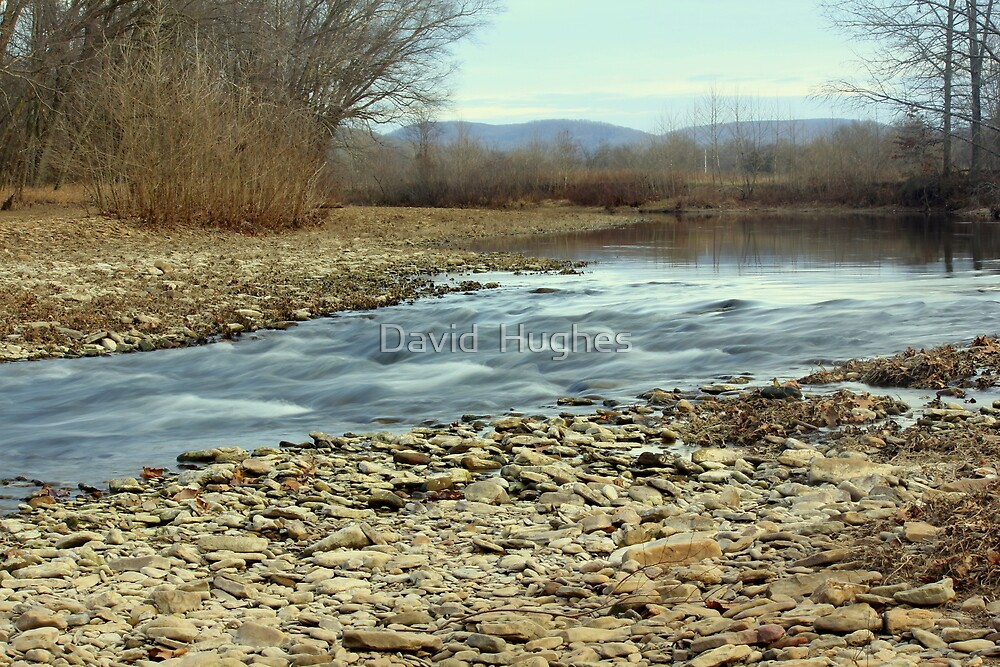 Walking the White River by David  Hughes