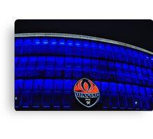 Donetsk - Donbass Arena - Deep Blue Canvas Print