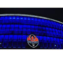 Donetsk - Donbass Arena - Deep Blue Photographic Print