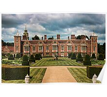 Blickling Hall From The Raised Garden Poster