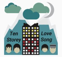 Ten Storey Love Song - Moz Designs Kids Tee
