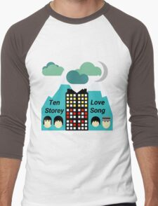 Ten Storey Love Song - Moz Designs Men's Baseball ¾ T-Shirt