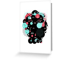 Deft Moodiness Greeting Card