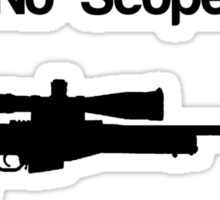 No Scope? No Problem! Sticker