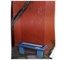 The Blue Bench - El Banco Azul Poster