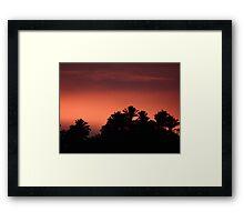 Morning At The Sierra Madre - Mañana En La Sierra Madre Framed Print