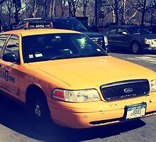 Yellow Taxi by alicehughes93