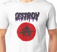 Anarchy, Destroy Unisex T-Shirt