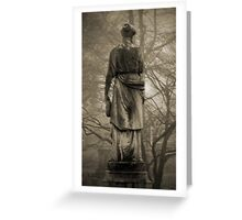 Old Gray Cemetery-1922 Greeting Card
