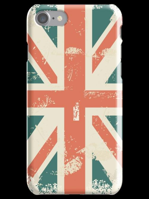 UK flag iPhone cover by Anastasiia Kucherenko