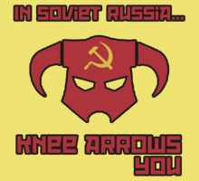 Soviet Knees Have Arrows... by Shirts For Cool People
