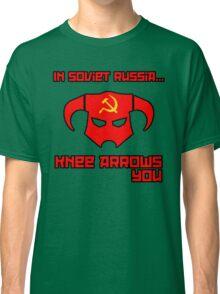 Soviet Knees Have Arrows... Classic T-Shirt