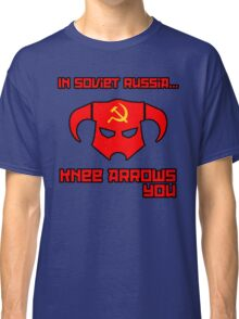 Soviet Knees Have Arrows... Classic T-Shirt