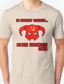 Soviet Knees Have Arrows... T-Shirt