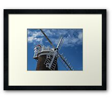 The windmill at Cley Framed Print