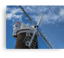 The windmill at Cley Metal Print