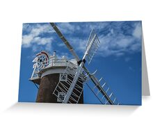 The windmill at Cley Greeting Card