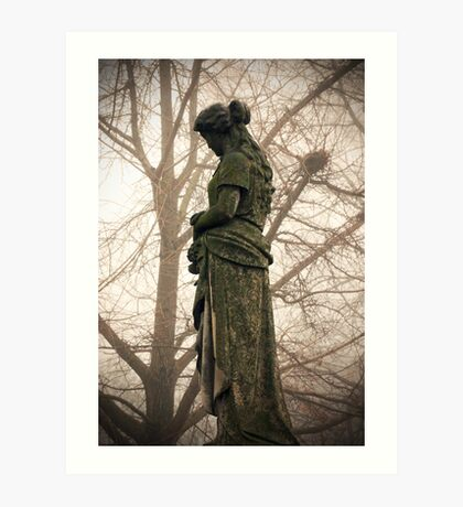 Old Gray Cemetery-1927 Art Print