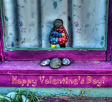 """"""" Window Hug""""  Valentine's Day Card by Diana Graves Photography"""