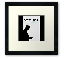 steve jobs one last things Framed Print