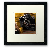 Nikon F2 Framed Print