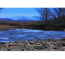 White River In The RAW! Photographic Print
