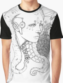 Space Doll Graphic T-Shirt