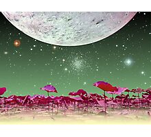Alien World 1 Photographic Print