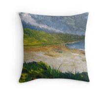 Coastal road to Barleycove Throw Pillow
